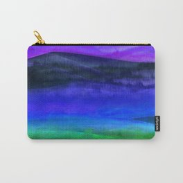 Bright Midnight Landscape Carry-All Pouch