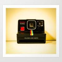 polaroid Art Prints featuring Polaroid by Sydney S Photography