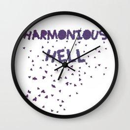 Harmonious Hell Wall Clock