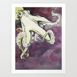 The Octopus -  Art Print