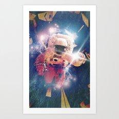 Astro Nova 02, capsule breach Art Print