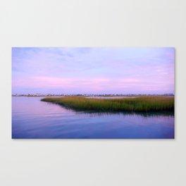 Creekside Evening Canvas Print