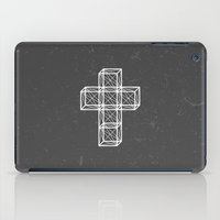 cross iPad Cases featuring Cross by Dizzy Moments
