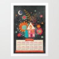 Love & Dreams - 2015 Calendar Art Print