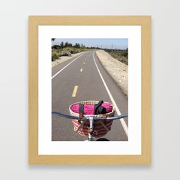 Bike Trail Framed Art Print