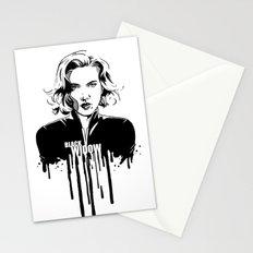 Fandom in Ink: Black Widow Stationery Cards