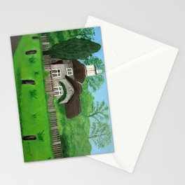 Cottage---Longleat safari park Stationery Cards
