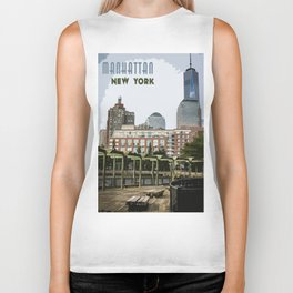 Manhattan, New York Biker Tank