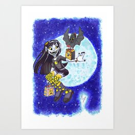 Trick or Treating Art Print