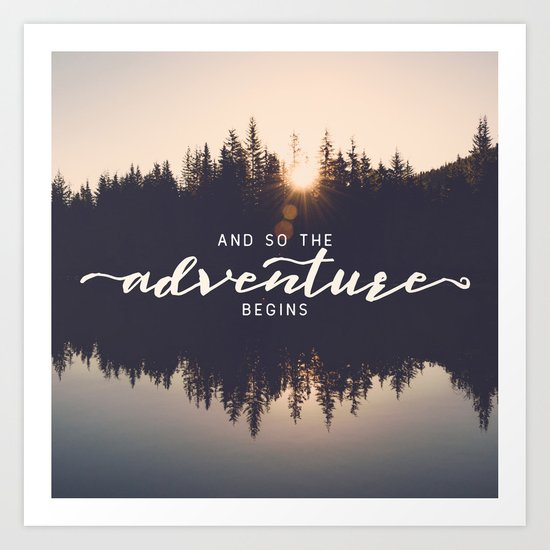 And So the Adventure Begins II by cascadia
