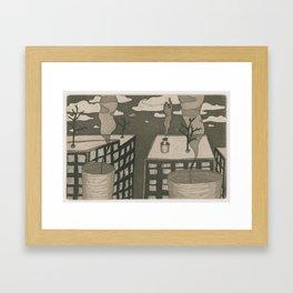 Human City Framed Art Print