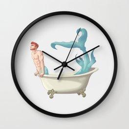 My Little Merman Wall Clock