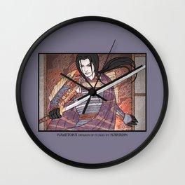 Kagetora (Dragon Lord of Echigo) Wall Clock