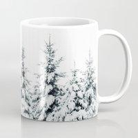 snow Mugs featuring Snow Porn by Tordis Kayma