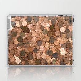 Pennies for your thoughts Laptop & iPad Skin