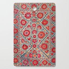 Kermina Suzani Uzbekistan Embroidery Print Cutting Board