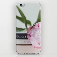 peony and paris iPhone & iPod Skin