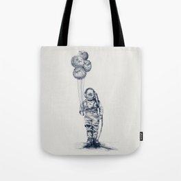 Balloon Fish - monochrome option Tote Bag