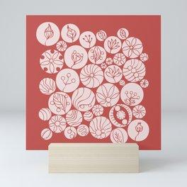 Botanical Forms Mini Art Print