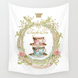 Tea for two Wall Tapestry