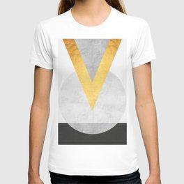 Golden Geometric Art VIII T-shirt