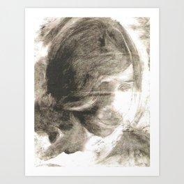 Vintage Portrait 1 Art Print
