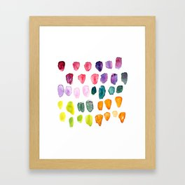 Watercolor Study Framed Art Print