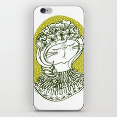 Spring Cat Lady  iPhone & iPod Skin
