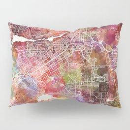 Riverside map Pillow Sham