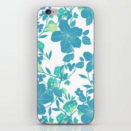 Botanical Blues iPhone Skin