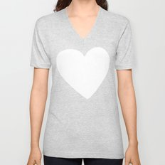 Big Heart Unisex V-Neck