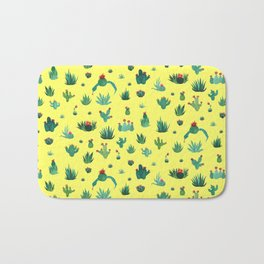 little cacti Bath Mat
