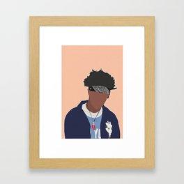 JOEY BADASS Framed Art Print