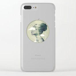 Geo Dress Clear iPhone Case