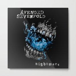 sevenfold rock band Metal Print