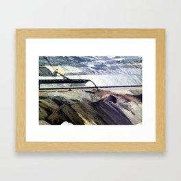 small world. Framed Art Print