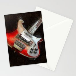 Rick and Famous - My 4003 Rickenbacker Basss Stationery Cards