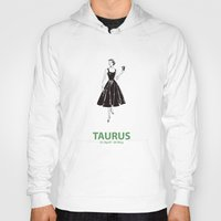 taurus Hoodies featuring Taurus by Cansu Girgin