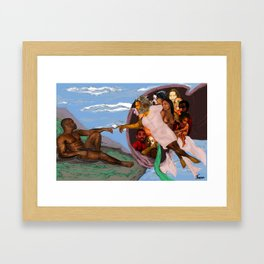 The Creation of Jab Framed Art Print