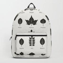 European Tree Leaves Backpack