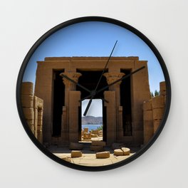 Temple of The Goddess Wall Clock