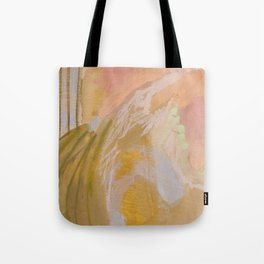 Jump / Acrylic Abstract Tote Bag