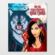 Not All Fierce Creatures Have Fangs Canvas Print