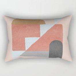 Open space - exterior stairs Rectangular Pillow