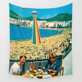 A Summer Vacation Wall Tapestry