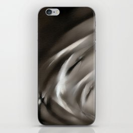 Tempus Fugit #abstract #sabidussi #artprints #society6 iPhone Skin