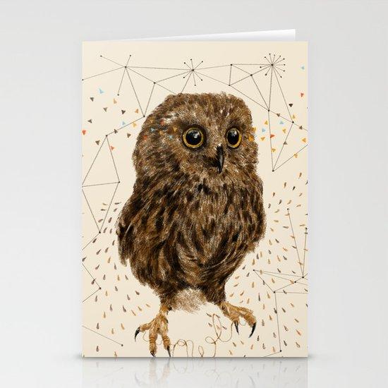 Mr.Owl IV Stationery Cards