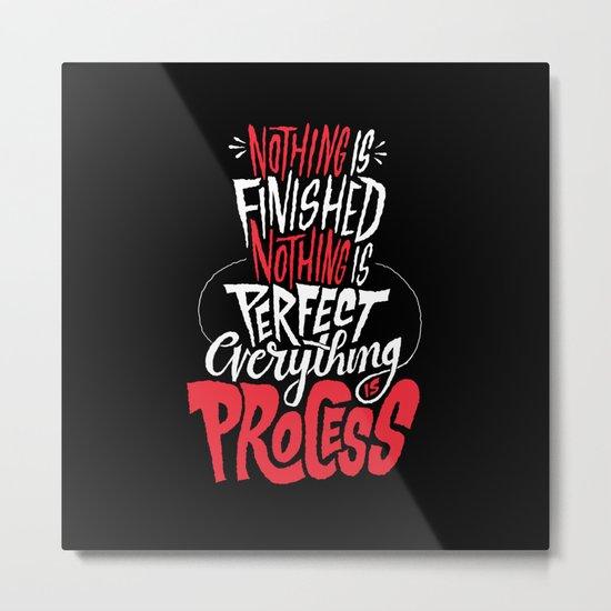 Process Metal Print
