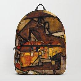 "Egon Schiele ""Krumau - Crescent of Houses (The small City V)"" Backpack"