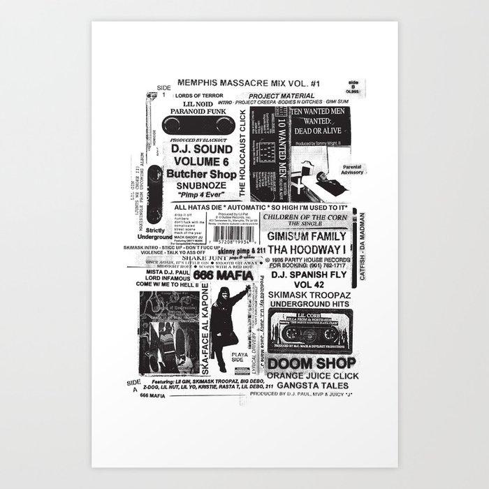 LEGENDS OF MURDER RAP Kunstdrucke